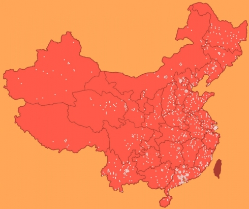 Laogai_Map