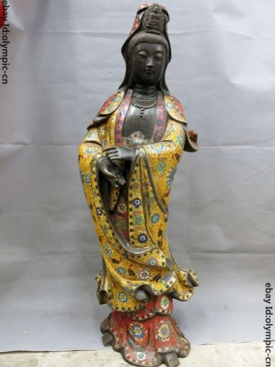 Cloisonne Guanyin