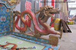 Chinese Royalty Cloisonne Table and Chairs - Dragon arm